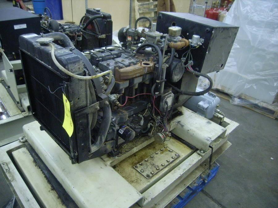 LISTER GENERATOR SET  10KW 1800 RPM, 240/120V, SINGLE PHASE  3