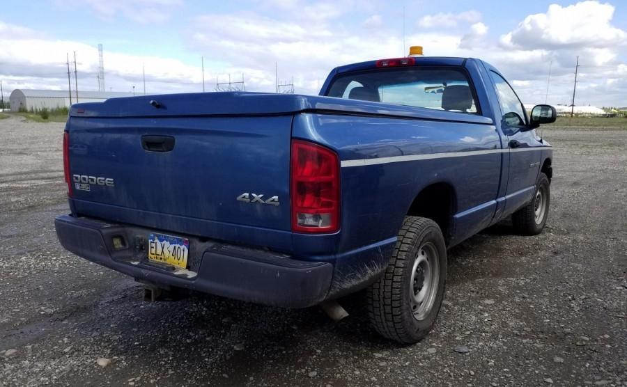 2004 DODGE RAM 1500, 4 7L GAS, 4X4, AUTOMATIC TRANSMISSION