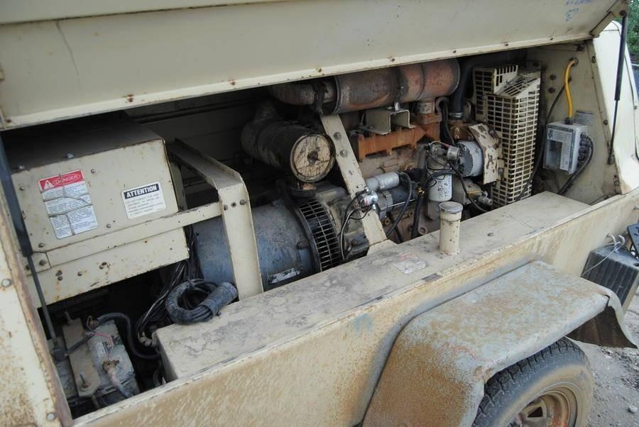 INGERSOLL RAND GENERATOR  TRAILER MOUNTED, PARTS MISSING