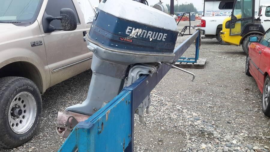 OUTBOARD MOTOR, EVINRUDE, 90 HP, JET Auction | 1stStrike