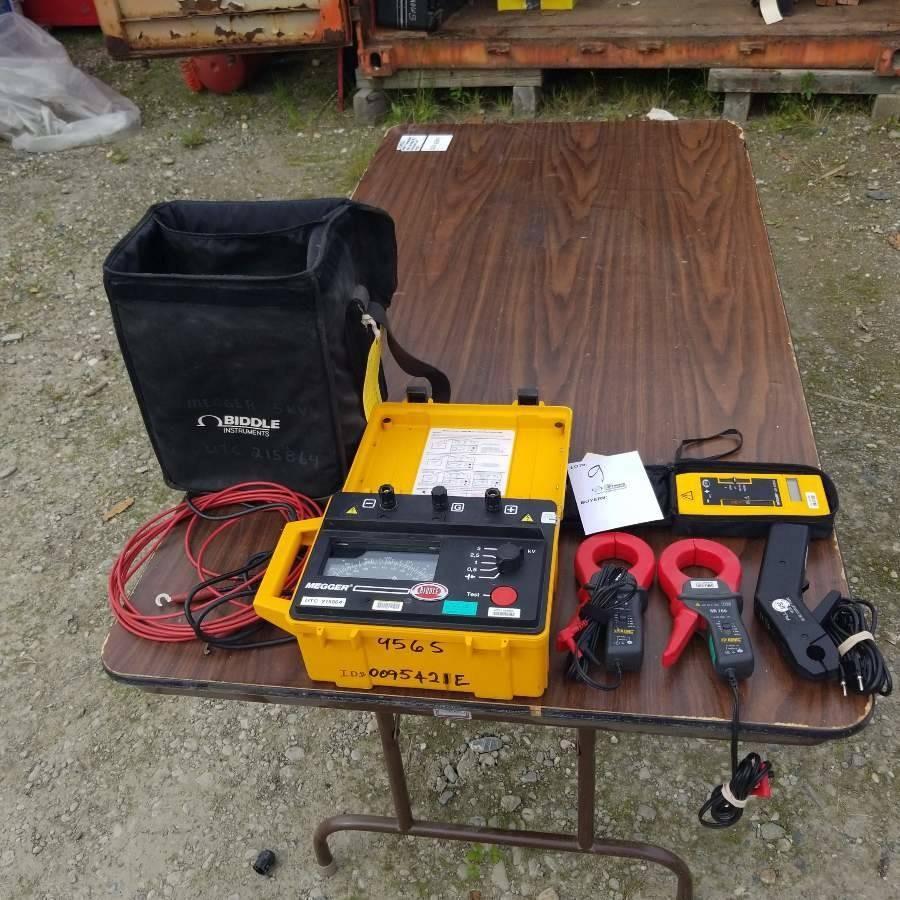 1 Assortment Current Measurement Equipment  1 each Biddle