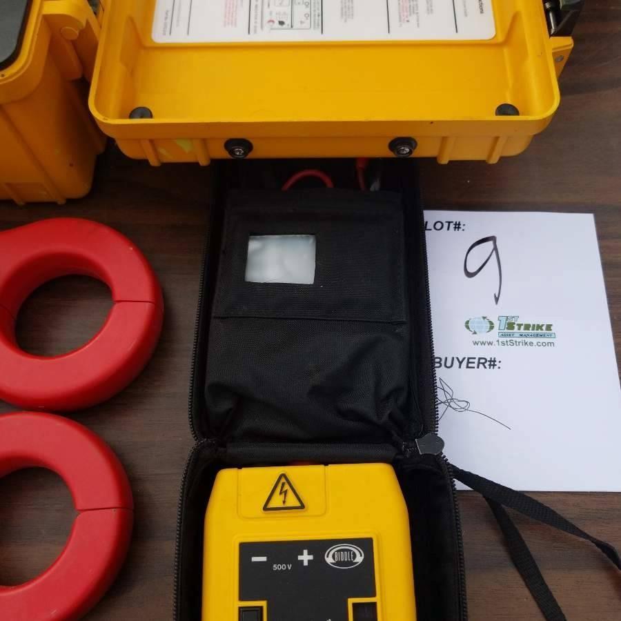 1 Assortment Current Measurement Equipment 1 Each Biddle Bm11 Megger 1 Each 210900 Megger 1 Each Fluke Y8100 Probe 2 Each Aemc Sp759 Clamps Auction 1ststrike Asset Management