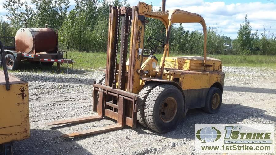 FORKLIFT, HYSTER H80B, 8K CAPACITY, GAS HRS:2951 Auction