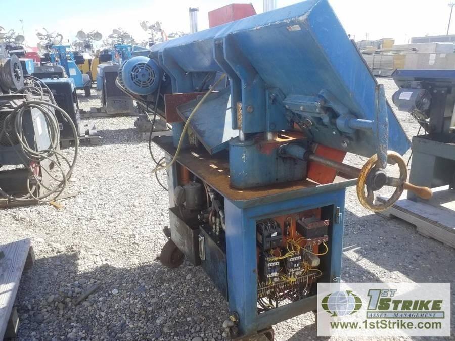 HORIZONTAL BAND SAW, ENCO, MODEL SAH-918 SN:611109 Auction