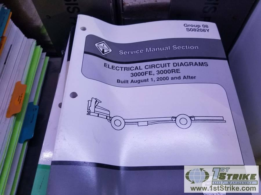 MISC PARTS AND SERVICE MANUALS, INCLUDING: INTERNATIONAL