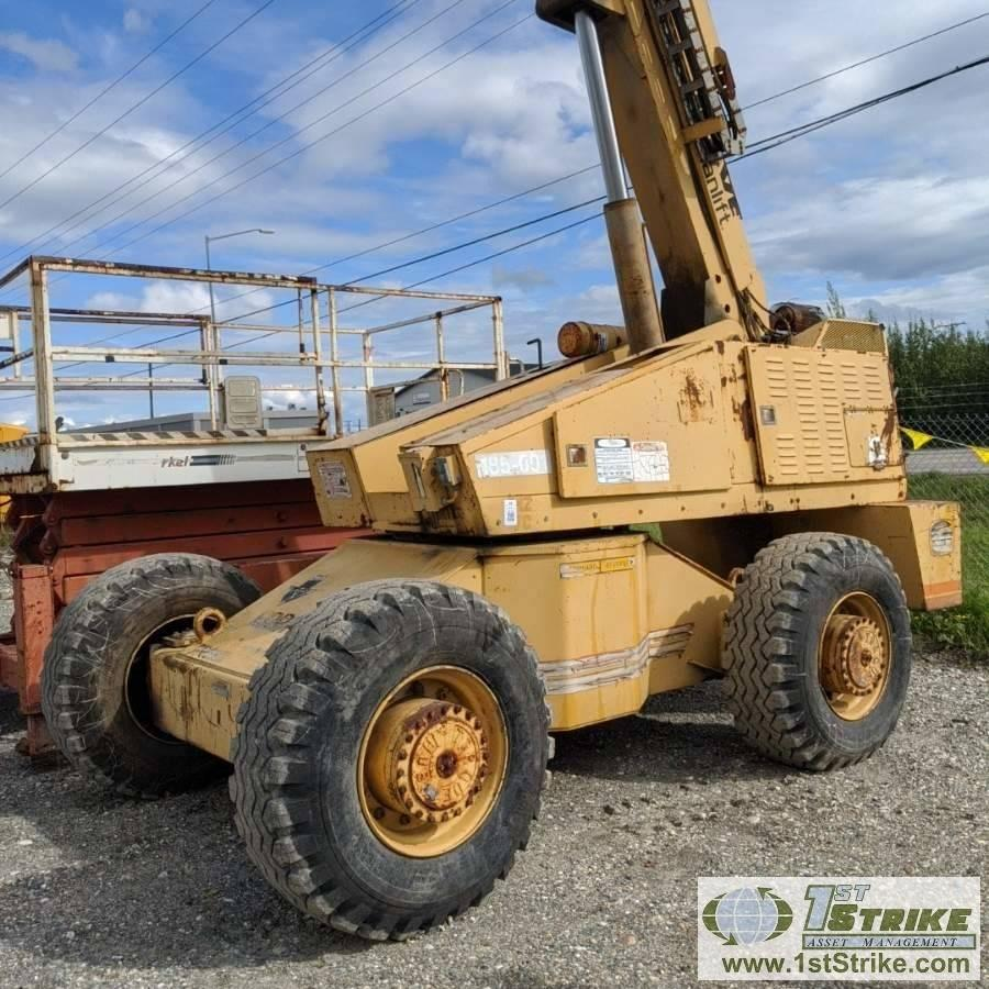 MANLIFT, GROVE MZ 76, DIESEL ENGINE, 600LB CAPACITY, 76FT MAX HEIGHT, 42IN  X 72IN HRS:7653 Auction | 1stStrike Asset Management